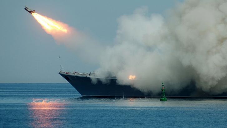 Rusia tocmai a lansat un violent atac cu rachete de croazieră