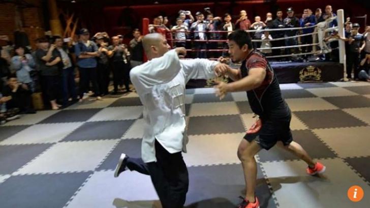"""Un maestru Tai Chi l-a provocat la luptă pe un """"bătăuș"""" MMA. Meciul s-a terminat în 10 secunde"""