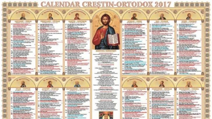Sărbătoare mare astăzi. E cruce neagră în calendarul ortodox