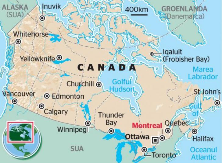 Cutremur De 6 2 Grade In Nord Vestul Canadei Urmat De Mai Multe