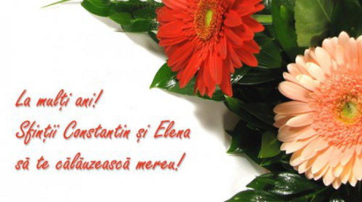 <p>Felicitari si mesaje constantin si elena</p>