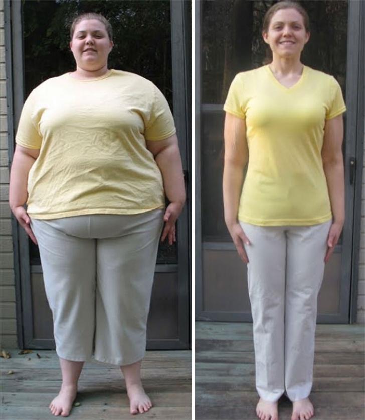 Aveau zeci de kilograme în plus, dar acum sunt într-o formă de zile mari. Fotografii virale