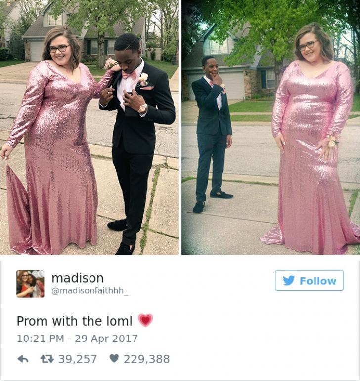 Viral! Cum a reacţionat un tânăr, după ce iubita lui a fost catalogată ca fiind grasă de o străină