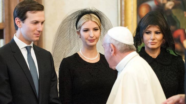 Gestul scandalos făcut de Ivanka Trump după vizita cu Papa Francisc! Soţul ei se va enerva