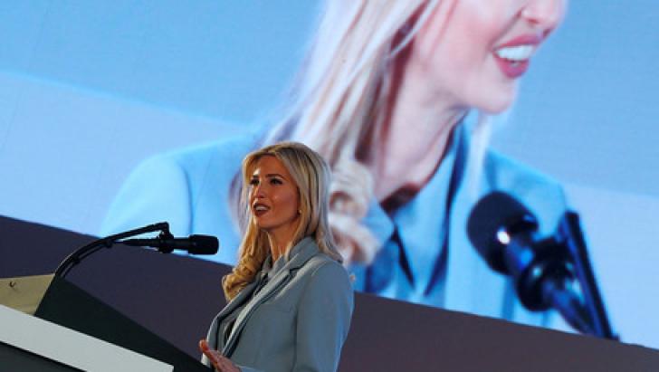 Ivanka Trump laudă progresul Arabiei Saudite cu privire la drepturile femeilor. Publicul nu o crede