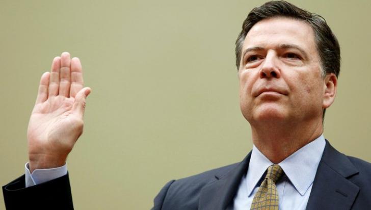 """Mesajul de adio al lui James Comey: """"Misiunea FBI a fost una dintre marile bucurii ale vieții mele"""""""