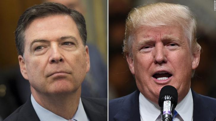 """Fostul director FBI amenințat de Trump? """"Să sperăm că nu sunt înregistrări care vor ajunge în presă"""""""