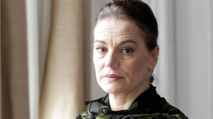 Maia Morgenstern a renunţat la funcţia de director al Teatrului Evreiesc de Stat