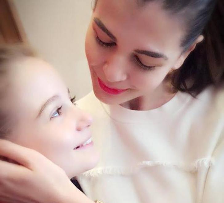 Anunţul făcut de Monica Gabor despre fetiţa ei de 10 ani