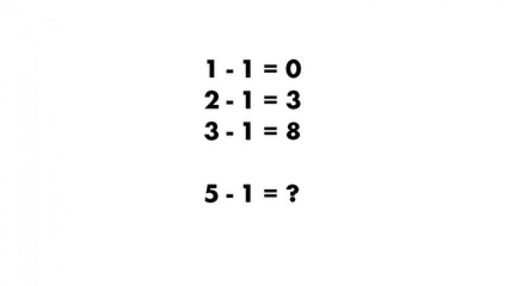 Această problemă de matematică le dă bătăi de cap și profesorilor. Tu ştii rezolvarea?