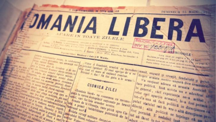 """""""România liberă"""" împlinește 140 de ani"""