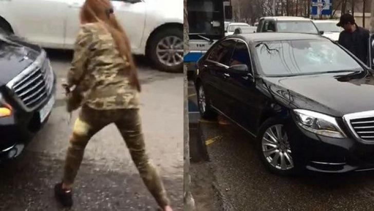 Un şofer de Mercedes i-a tăiat calea acestei femei. Ea s-a dat jos din maşină. Ce a urmat e şocant!