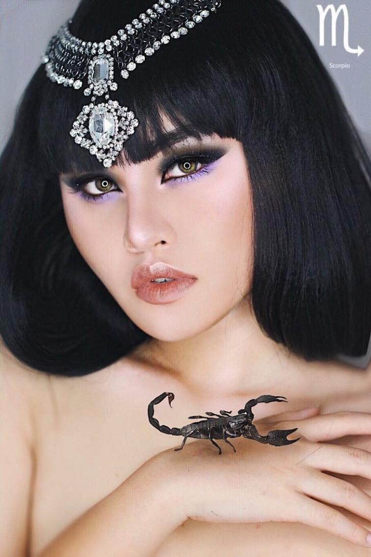 Imagini senzaţionale!Un make-up artist celebru a creat câte un machiaj pentru fiecare zodie în parte