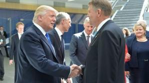 Klaus Iohannis se întâlnește cu Donald Trump. Declarații comune la ora 21.45