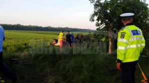Accident lângă Buzău, vineri dimineaţa