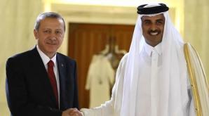 Erdogan şi emirul Qatar