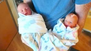 A născut gemeni perfecţi. Într-o zi blestemată, doctorii au descoperit o diferenţă înfiorătoare!