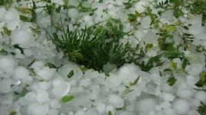 ALERTĂ METEO! Cod PORTOCALIU de ploi violente şi grindină. Potop în ţară!