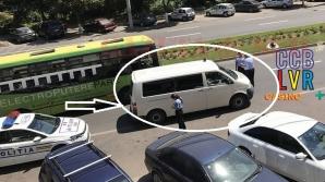 Politia, oprită în trafic