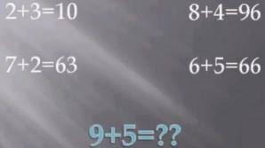 Problema de logică pe care o rezolvă numai 1 din 23 de milioane de oameni. Tu ştii răspunsul?