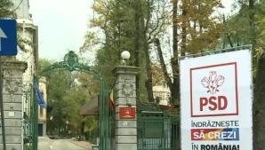 Ce a apărut pe sigla sediului PSD Kiseleff. Mesajul care sperie liderii social-democraţi