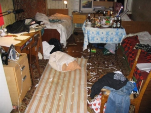 Imagini halucinante din căminele studenţeşti din Rusia