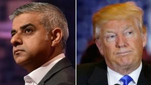 Schimb acid de replici între Trump şi primarul Londrei, Sadiq Khan, după atacul terorist