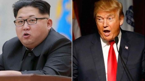 Donald Trump vs Kim Jong un