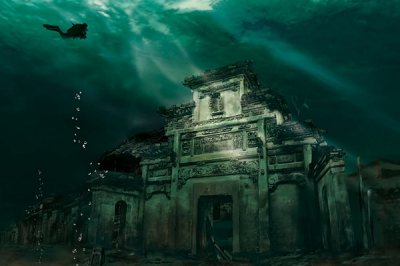 Au descoperit un oraş sub apă, vechi de 1341 ani. E o cu totul altă lume