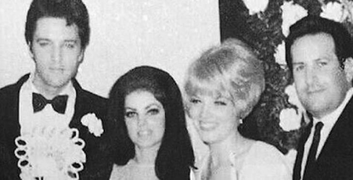 Mister dezlegat după 50 ani! Cine e blonda care apare lângă Elvis şi Priscilla, la nunta celor doi