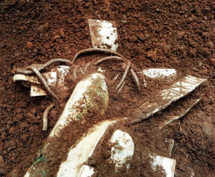 Se plimba cu detectorul de metale, când a găsit un cufăr îngropat. A devenit milionar peste noapte