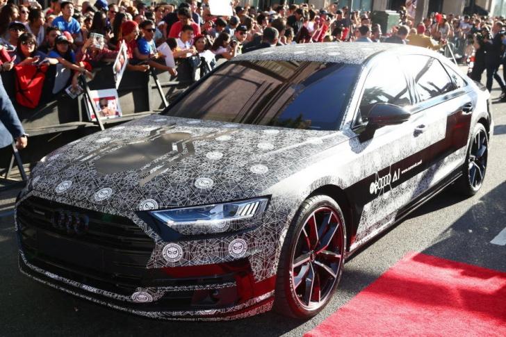 Audi a adus noul A8 la premiera filmului Spider-Man: Homecoming. Cum arată bolidul de mare forţă