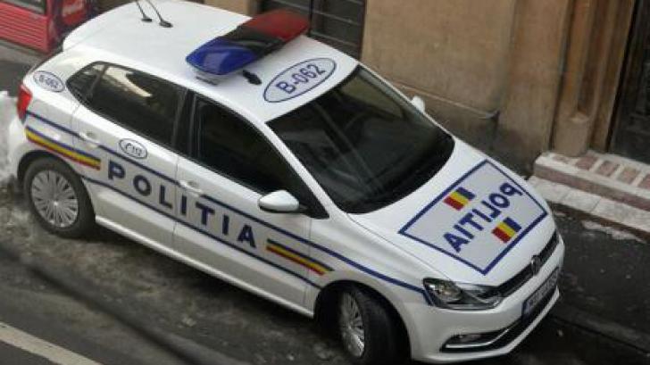 Accident în lanţ cu şase autoturisme, în Giurgiu