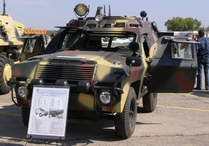 """Cum arată cea mai TARE maşină comandată de Ceauşescu: ABI. Un hibrid """"născut"""" din TANC şi ARO"""