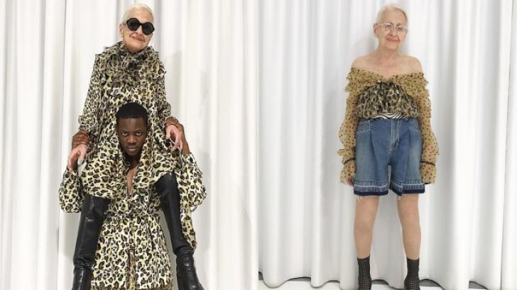 Povestea fabuloasă a femeii care a intrat într-un magazin şi a devenit model. Are 95 de ani!