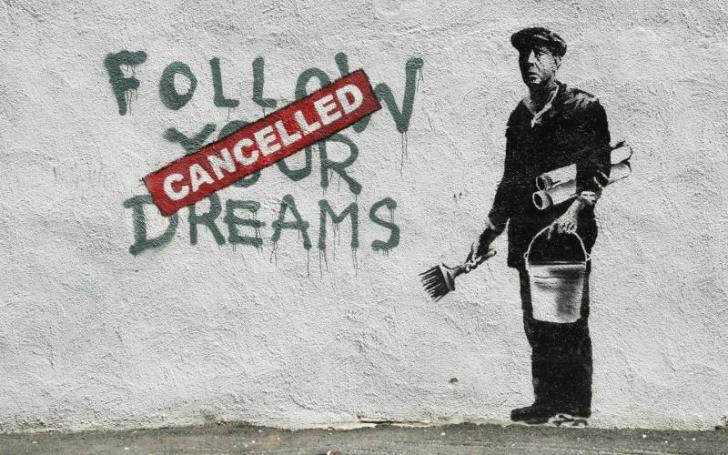 """Banksy, dat de gol """"din greşeală"""" de un DJ britanic. S-a aflat cine este -membru într-o trupă URIAŞĂ"""