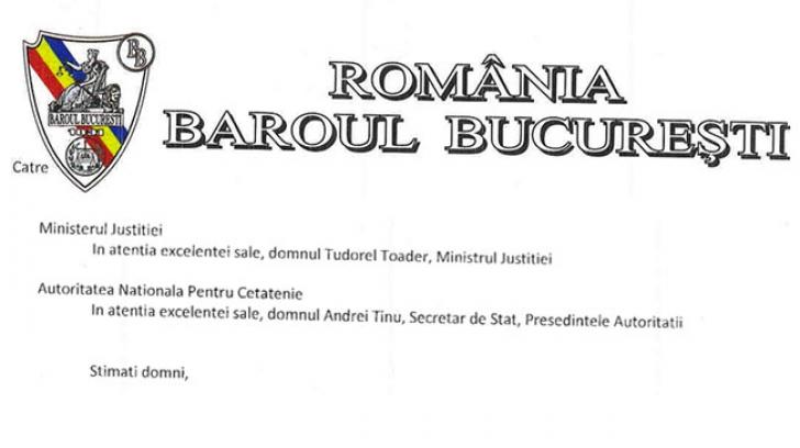 Baroul București se implică în situația generată de ANC, apărând drepturile avocaților