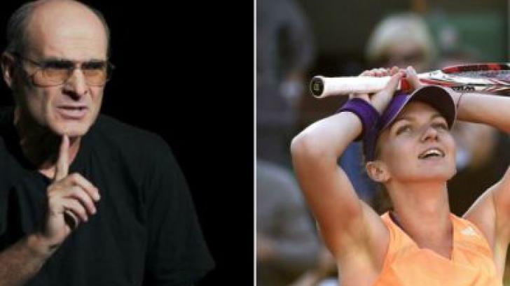 Cristian Tudor Popescu, declaraţie surprinzătoare după ce Simona Halep a fost eliminată de Wozniacki