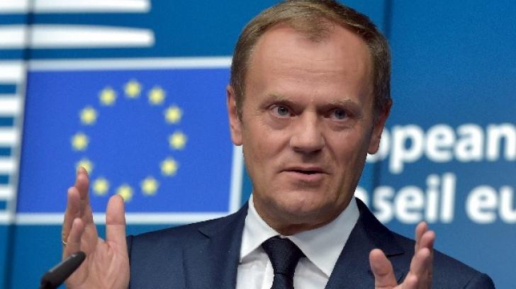 Preşedintele Consiliului European, Donald Tusk, i-a scris lui Mihai Tudose