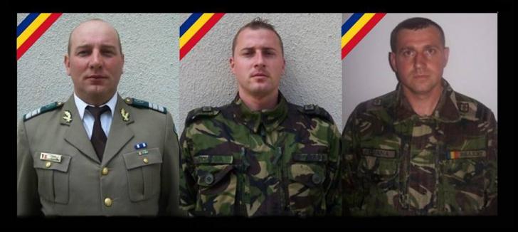 Cine sunt cei trei militari morți în accidentul din Argeș