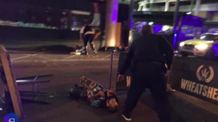 Jihadistul împușcat