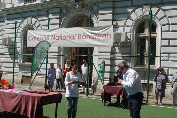 Lavinia Șandru, premiată de un liceu vechi de 234 de ani – Colegiul Național Bănățean