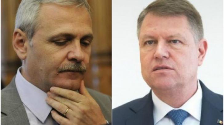 Presedintele Iohannis, pasă de la adversar