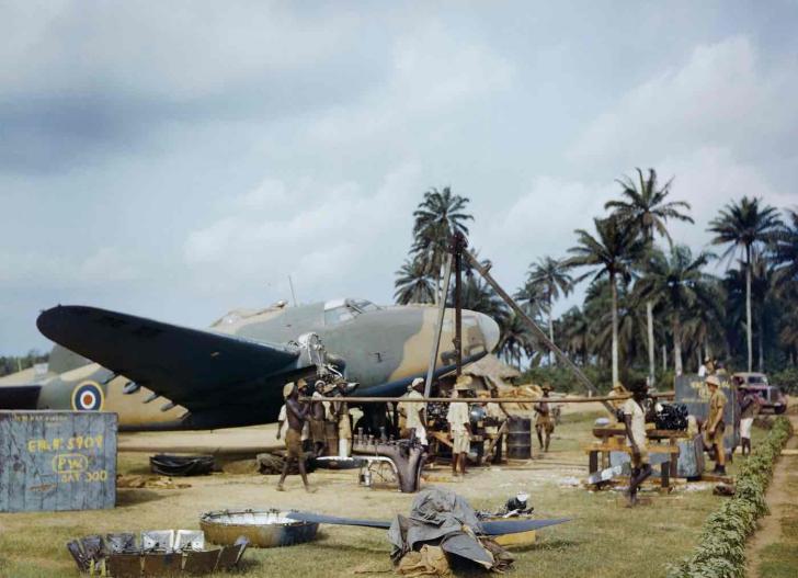 O altă față a celui de-Al Doilea Război Mondial! Imagini RARE, publicate pentru prima oară