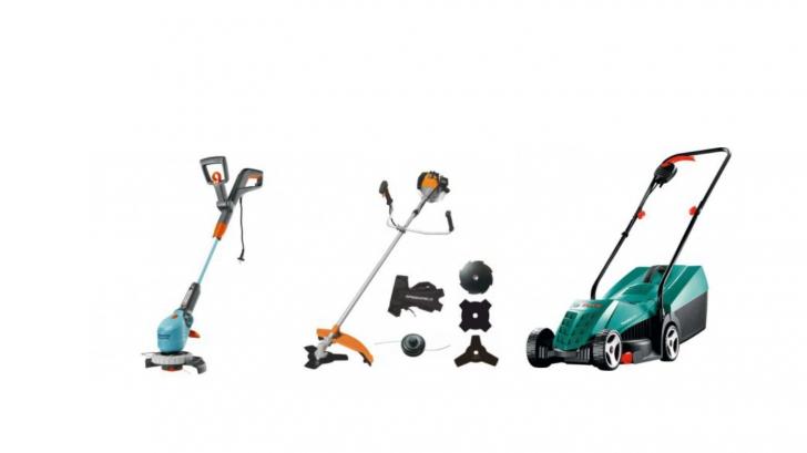 Reduceri eMAG coase electrice, motocoase și mașini de tuns iarba. Cele mai bune oferte de azi
