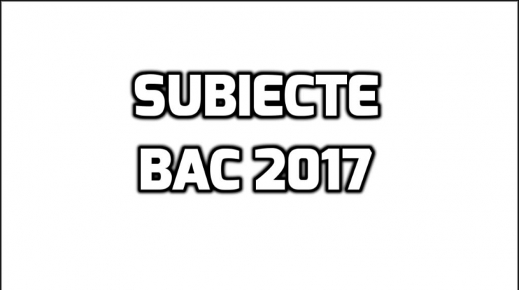Subiecte filosofie, logica, psihologie, economie si sociologie - LIVE BAC 2017