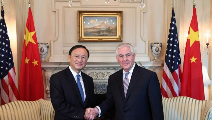 """China și SUA cad de acord cu privire la reducerea """"completă și ireversibilă"""" a arsenalului coreean"""