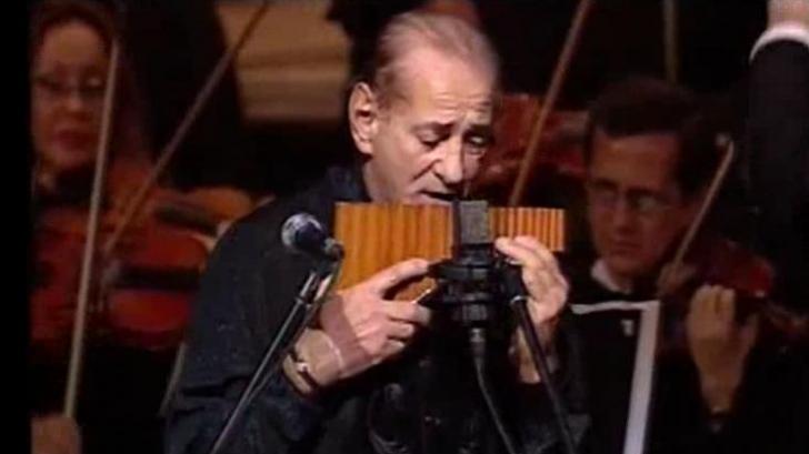 Două legende ale muzicii internaţionale,în concert la Cluj:Andrea Bocelli alături de Gheorghe Zamfir