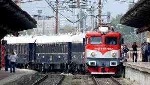 Circulaţie feroviară la viteză redusă pe trei tronsoane