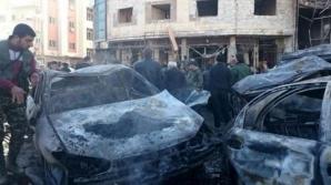 Atentat sinucigaş la Damasc, mai mulţi morţi şi răniţi